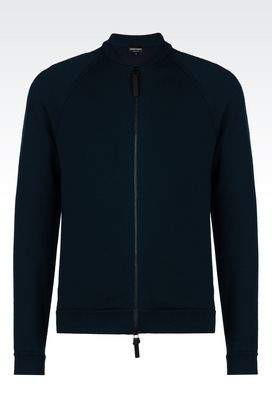 Armani Blouson jacket Men knit blouson
