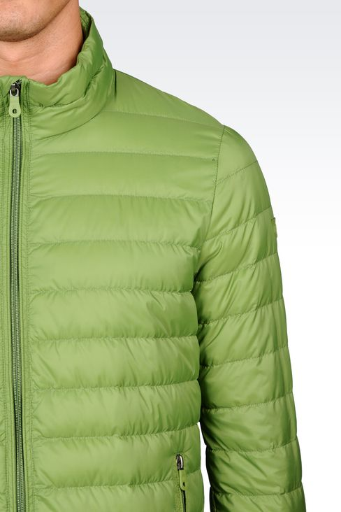 ULTRA LIGHT DOWN JACKET WITH SPECIAL PACKAGING: Down coats Men by Armani - 4