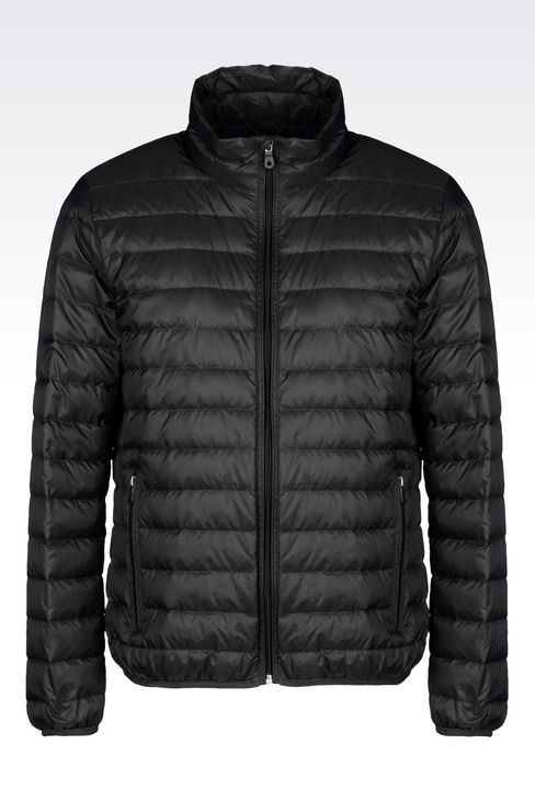 ULTRA LIGHT DOWN JACKET WITH SPECIAL PACKAGING: Down coats Men by Armani - 1