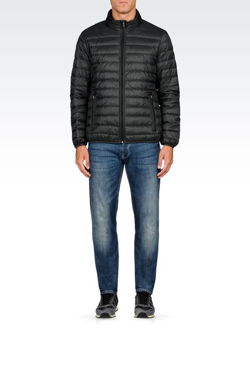 ULTRA LIGHT DOWN JACKET WITH SPECIAL PACKAGING: Down coats Men by Armani - 2