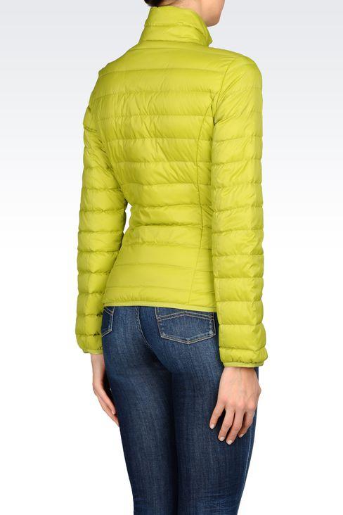 Outerwear: Down coats Women by Armani - 3