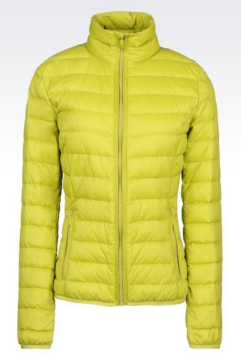 Outerwear: Down coats Women by Armani - 1