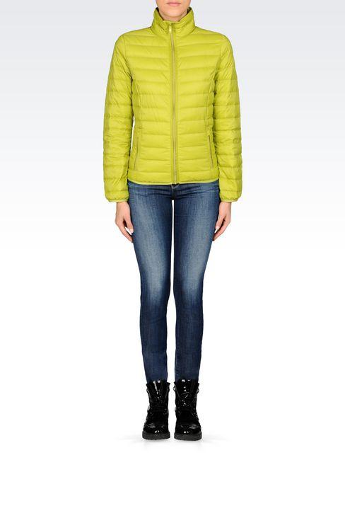 Outerwear: Down coats Women by Armani - 2