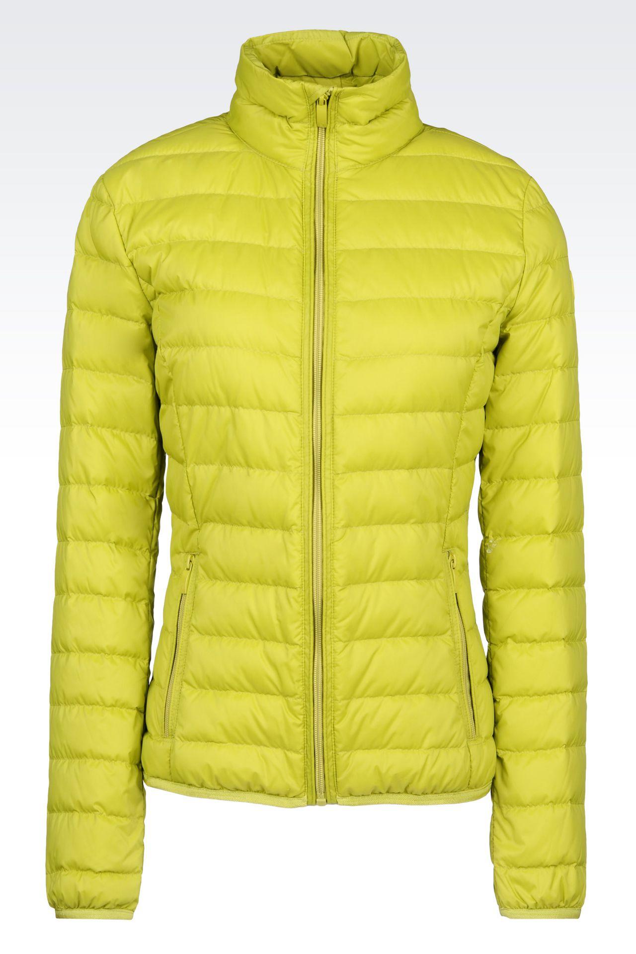 Outerwear: Down coats Women by Armani - 0
