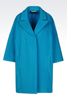 Armani Coats Women broadcloth coat