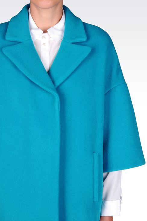 BROADCLOTH COAT: Coats Women by Armani - 5