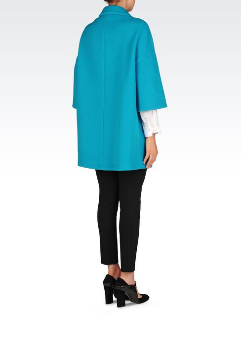 BROADCLOTH COAT: Coats Women by Armani - 4