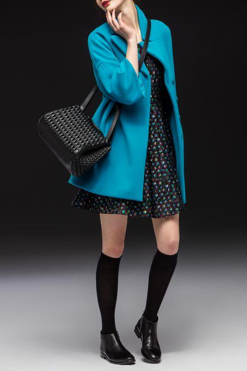 BROADCLOTH COAT: Coats Women by Armani - 2