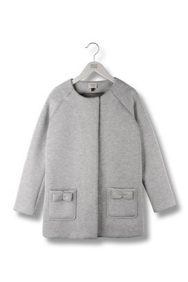 Armani Single-breasted coats Women fleece coat