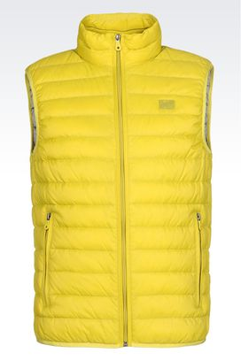 Armani Padded vests Men outerwear