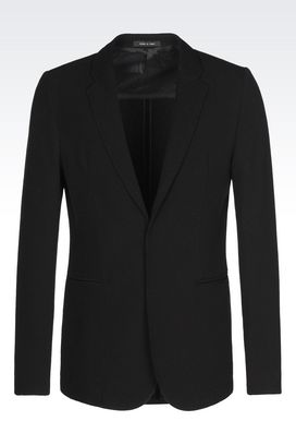 Armani Jackets Men jacket in wool blend