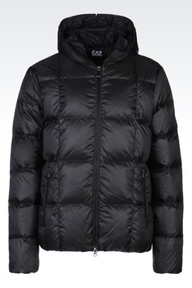 Armani Down coats Men hooded down jacket