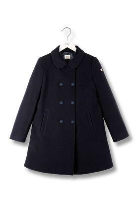 Armani Double-breasted coats Women broadcloth coat