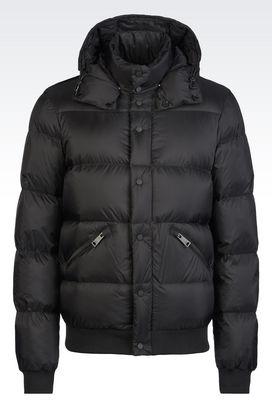 Armani Down coats Men down jacket in nylon