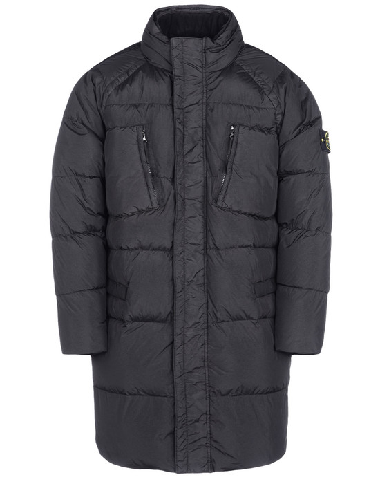 Stone Island Garment Dyed Crinkle Reps Ny Jacket In Grey