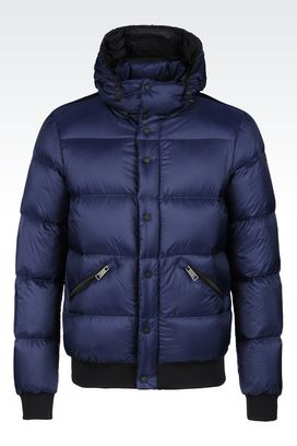 Armani Down coats Men outerwear