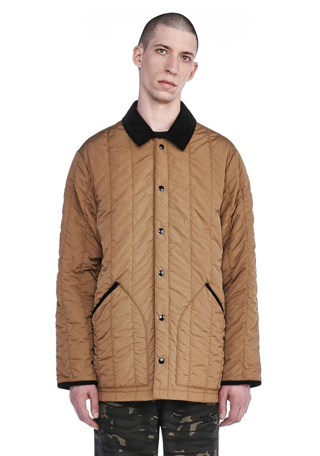 T by ALEXANDER WANG BOMBERS Men NYLON QUILTED LINER JACKET