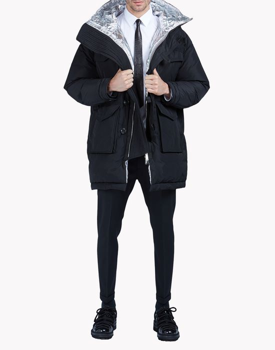 puff parka coats & jackets Man Dsquared2