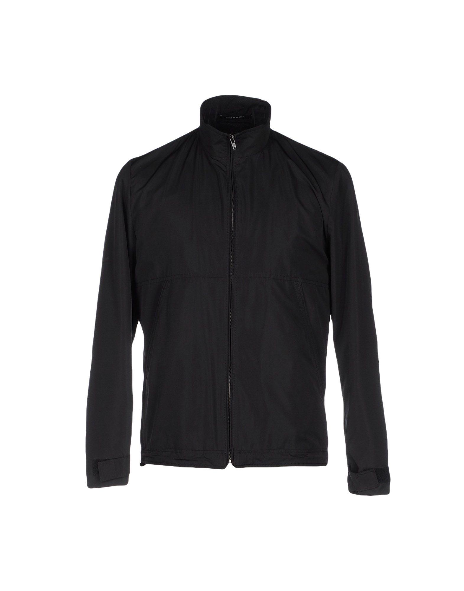 TIGER OF SWEDEN Herren Jacke Farbe Schwarz Größe 2