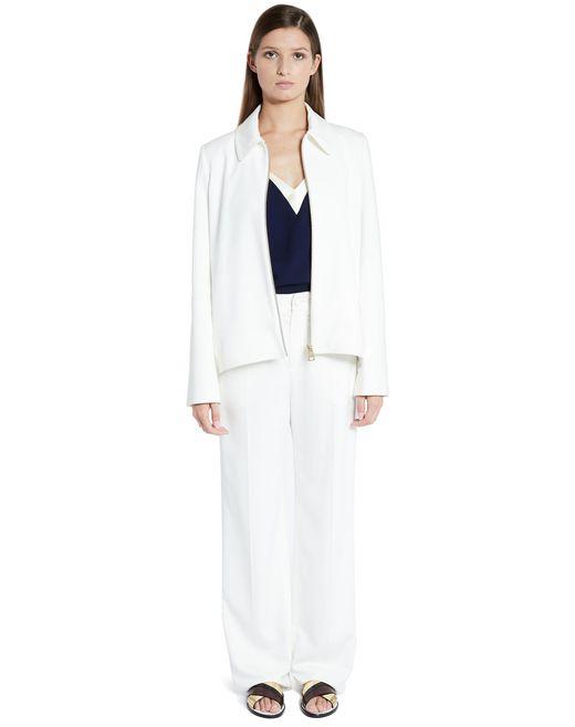 lanvin albène zippered jacket women