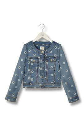 Armani Short-length jackets Women flower print denim jacket