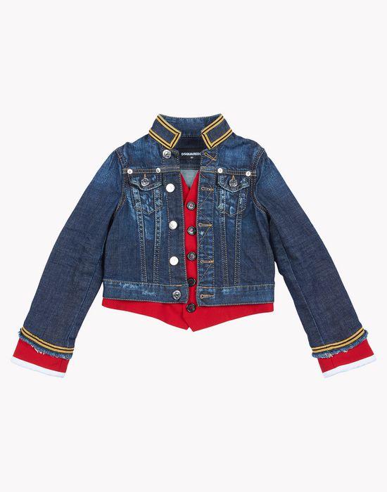 jean jacket coats & jackets Man Dsquared2