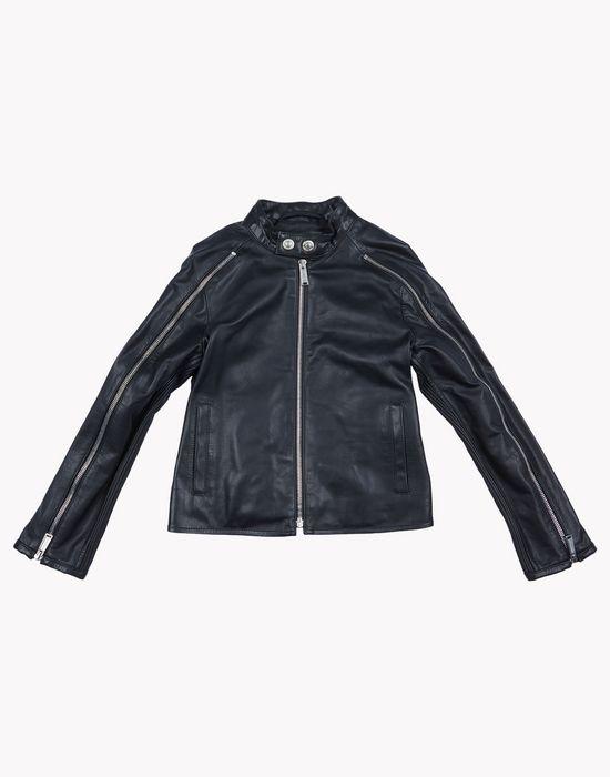 leather jacket coats & jackets Man Dsquared2