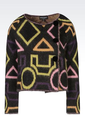 Armani Jackets Women runway knit jacket