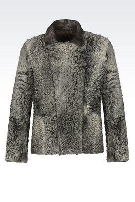 Armani Blouson jacket Uomo blouson di sfilata in montone