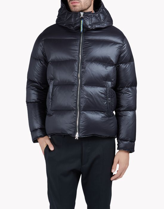 hooded puff bomber coats & jackets Man Dsquared2