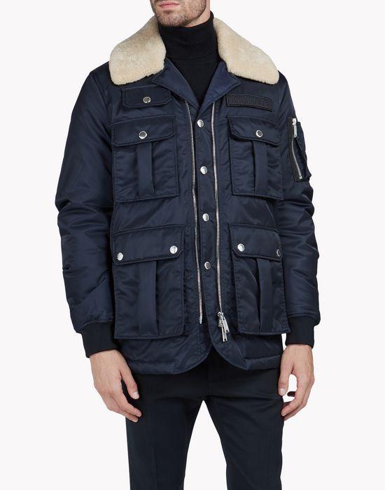 multi pocket puff jacket coats & jackets Man Dsquared2