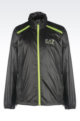 Armani Windbreakers Men ventus7 line technical fabric jacket
