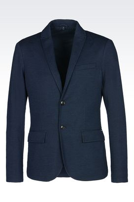 Armani Two buttons jackets Men jacket in broadcloth