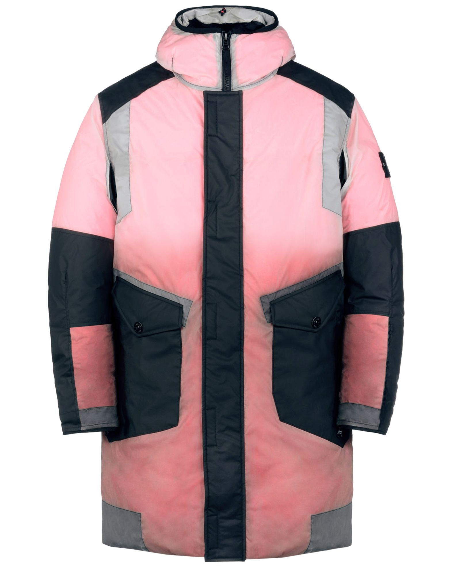 STONE ISLAND Mid-length jacket 70999 ICE JACKET RESIN-T SHELL DOWN