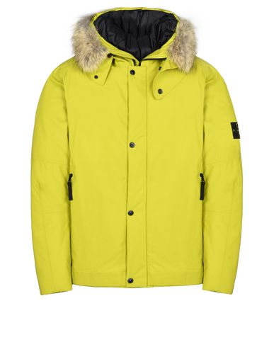 STONE ISLAND Mittellange Jacke 42025 WATER REPELLENT SUPIMA COTTON CON PRIMALOFT® INSULATION TECHNOLOGY