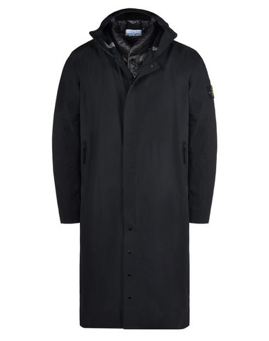 STONE ISLAND Steppjacke 70325 WATER REPELLENT SUPIMA COTTON CON INTERNO STACCABILE IN PIUMA