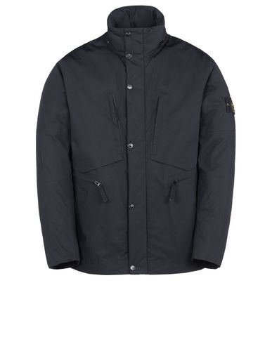 STONE ISLAND Mittellange Jacke 41525 WATER REPELLENT SUPIMA COTTON WITH PRIMALOFT® INSULATION TECHNOLOGY