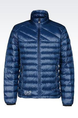 Armani Down coats Men technical down ski jacket with pertex® technology