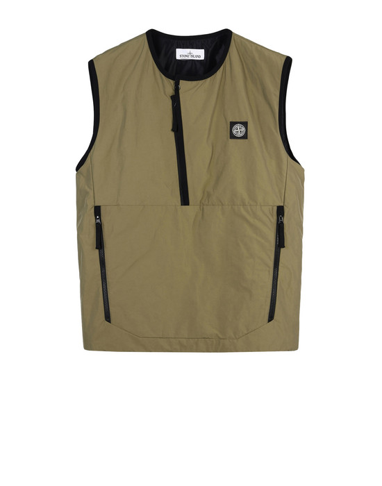 STONE ISLAND Vest G0422 MICRO REPS WITH PRIMALOFT® INSULATION TECHNOLOGY