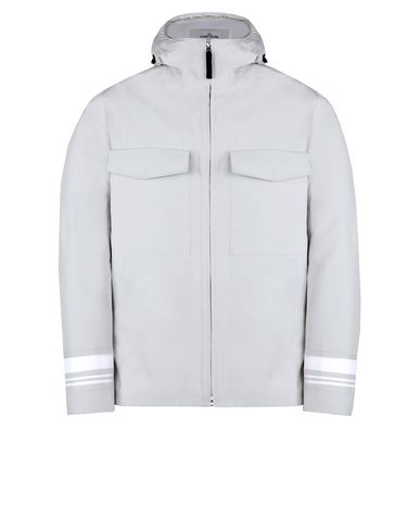 STONE ISLAND Mid-length jacket 427X1 STONE ISLAND MARINA _TANK SHIELD - MULTI LAYER FUSION TECHNOLOGY