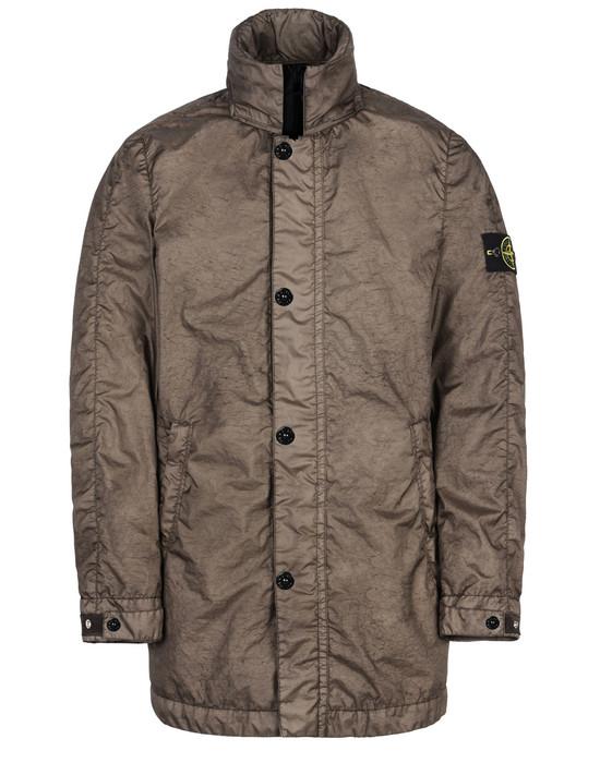 STONE ISLAND Mid-length jacket 43823 MEMBRANA 3L TC