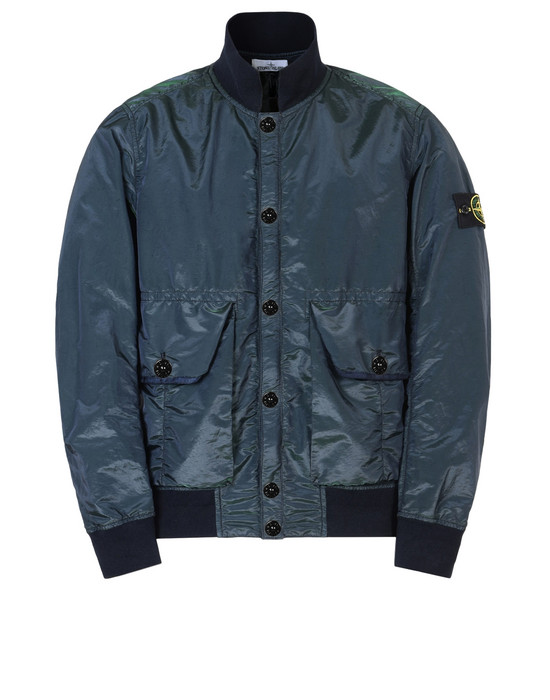 STONE ISLAND Jacket 42648 NYLON METAL WATRO COLOUR WEFT
