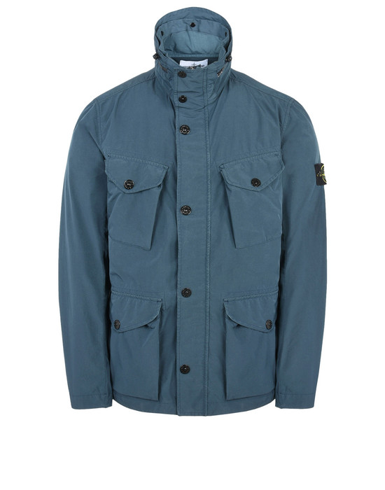 STONE ISLAND Mid-length jacket 42551 DAVID TELA LIGHT-TC