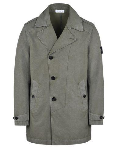 STONE ISLAND Mid-length jacket 41450 DAVID-TC WITH DUST COLOUR TREATMENT