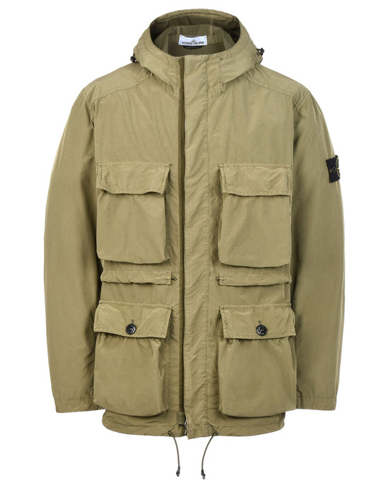 STONE ISLAND Mid-length jacket 45151 DAVID TELA LIGHT-TC