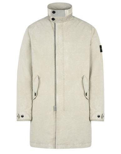 STONE ISLAND Coat 70550 DAVID-TC WITH DUST COLOUR TREATMENT