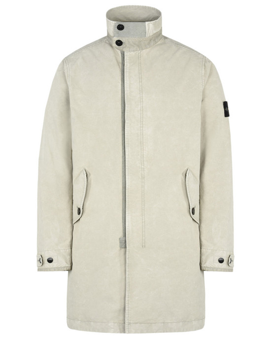 STONE ISLAND Coat 70550 DAVID-TC WITH DUST COLOUR TREATMENT
