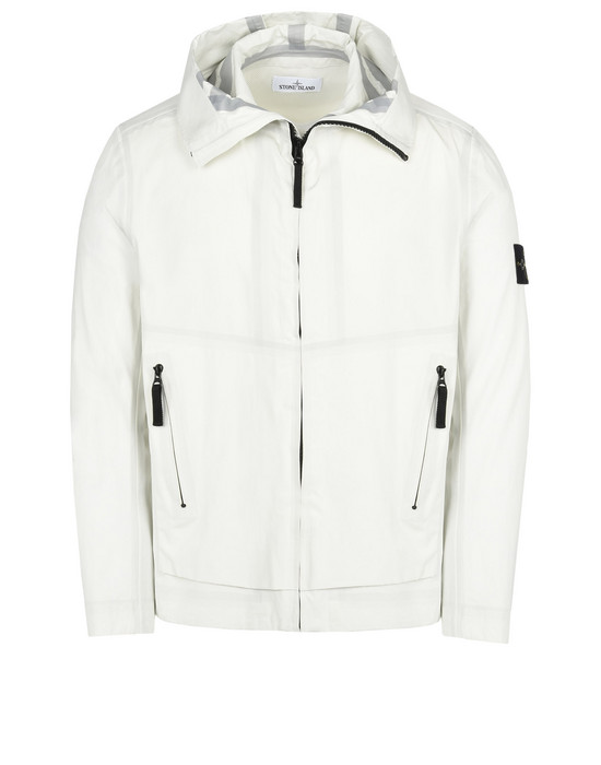 STONE ISLAND Mid-length jacket 41125 WATER REPELLENT SUPIMA COTTON