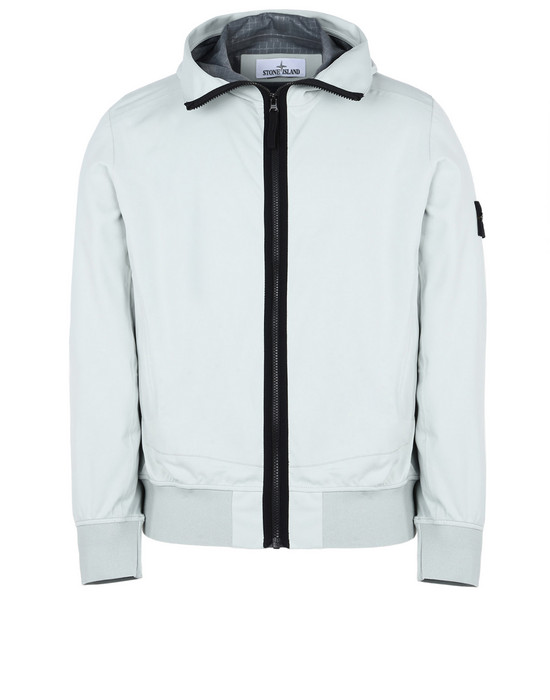 STONE ISLAND Jacket 42026 LIGHT SOFT SHELL SI CHECK GRID