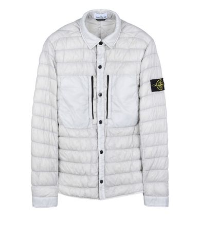 STONE ISLAND OVERSHIRT 10324 GARMENT DYED MICRO YARN DOWN